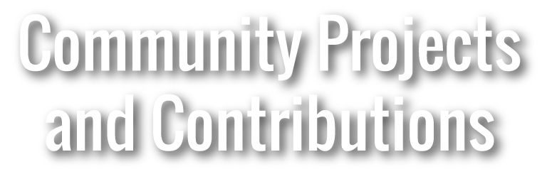 Community projects and contributions